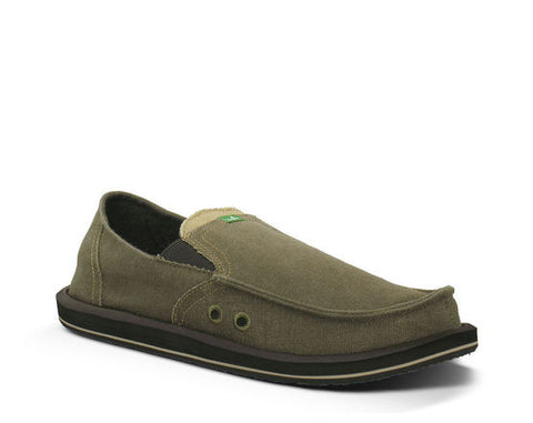 Sanuk Mens Sidewalk Surfers Pick Pocket