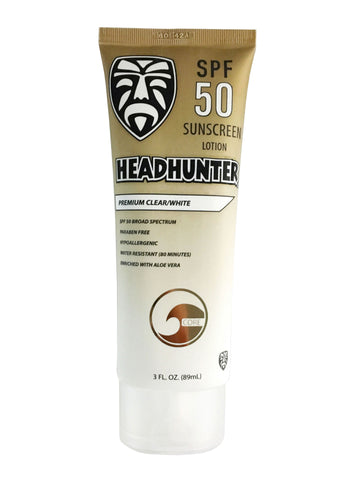 Headhunter Sunscreen SPF 50 Lotion