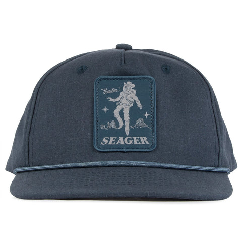Seager Mens Hat Space Cowboy Snapback