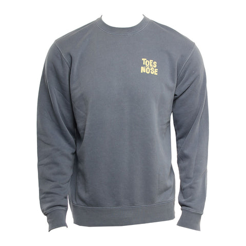 Toes On The Nose Mens Sweatshirt Stacked Crew