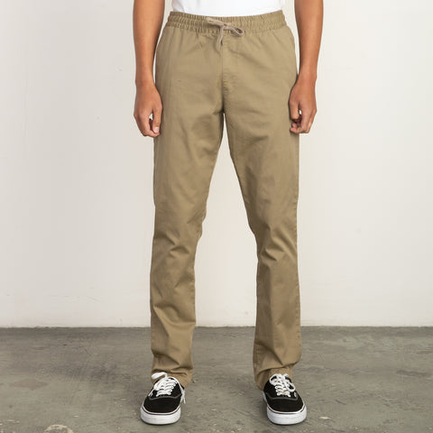 RVCA Mens Pants Weekend Elastic