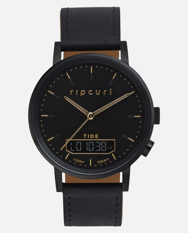 Rip Curl Watch Circa Tide Digital Leather