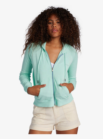Roxy Womens Sweatshirt Easy Evening B Zip-Up