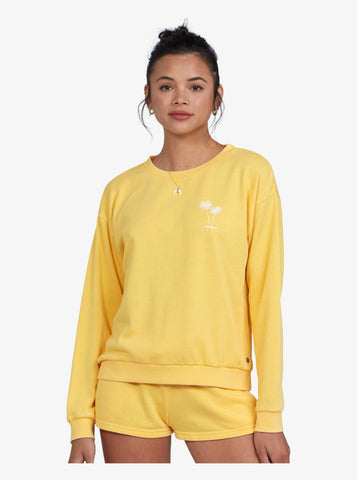 Roxy Womens Sweatshirt Surfing By Moonlight