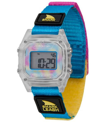 Freestyle Watch Shark Leash Mini Clear Cyan