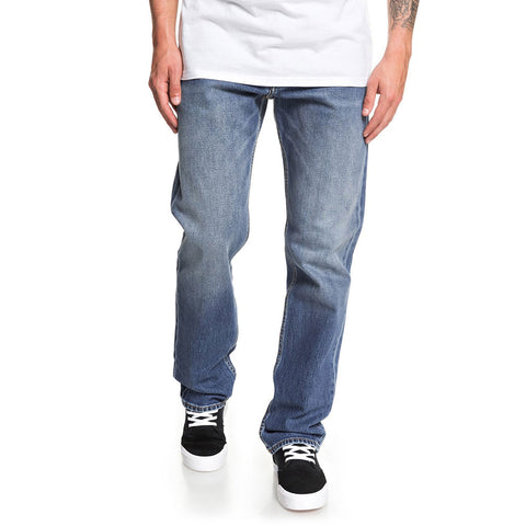 Quiksilver Mens Denim Aqua Cult Jeans