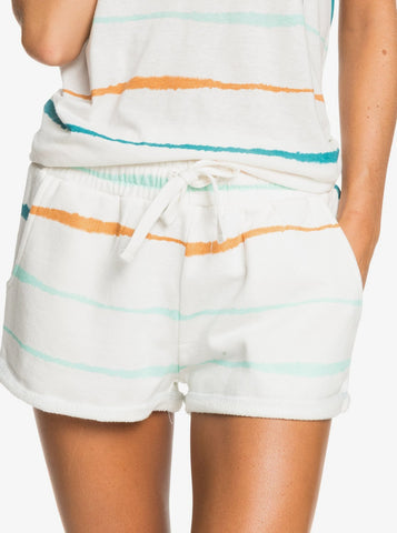Roxy Womens Shorts For The Love Of Surf Sweat Shorts