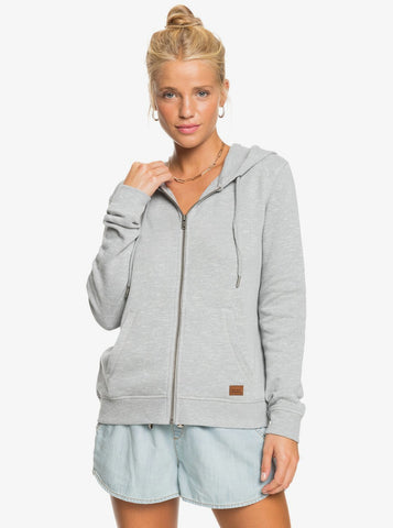 Roxy Womens Sweatshirt Perfect Wave Zip-Up Hoodie