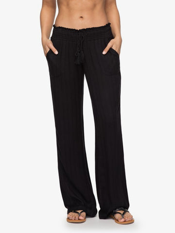 Roxy Womens Pants Oceanside Dobby