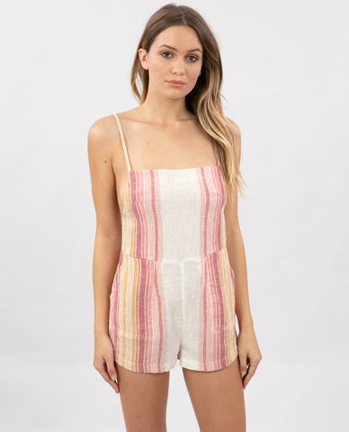 Rip Curl Womens Romper Golden Days Stripe