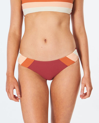 Rip Curl Womens Bikini Bottom Golden Days Block Good Pant