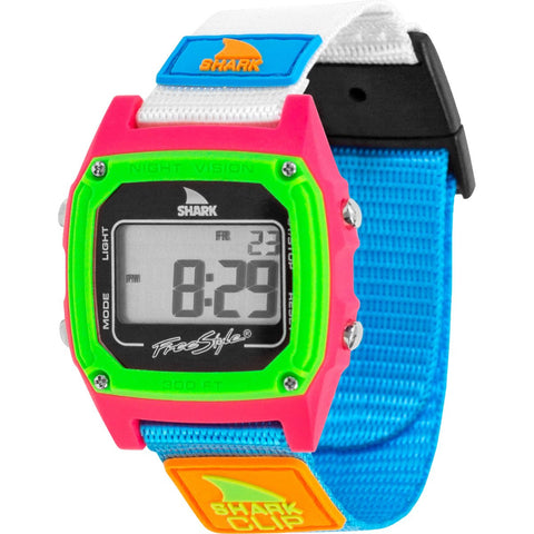 Freestyle Watch Shark Clip Black/Neon