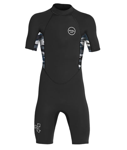 Xcel Youth Wetsuit Axis Short Sleeve Springsuit