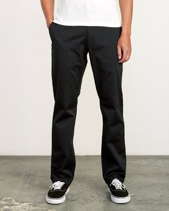 RVCA Mens Pants Week-End Stretch