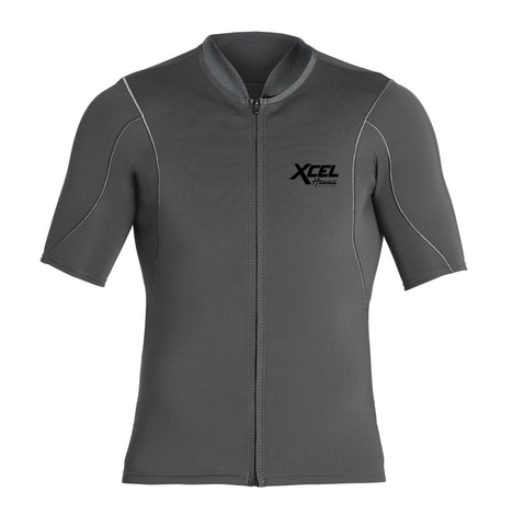 Xcel Mens Wetsuit Axis Short Sleeve Front Zip