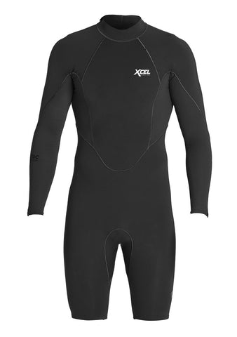 Xcel Mens Wetsuit Comp X Neostretch Long Sleeve Springsuit