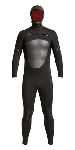 Xcel Mens Wetsuit Axis Front Zip 5/4mm Hooded Fullsuit