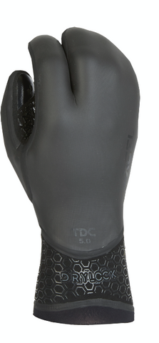 Xcel Wetsuit Gloves Drylock Textured 5mm 3 Finger Glove