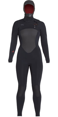 Xcel Womens Wetsuit Drylock Hooded 5/4mm Fullsuit