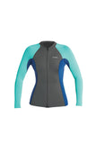 Xcel Womens Wetsuit Axis Long Sleeve Front Zip 1.5mm Jacket
