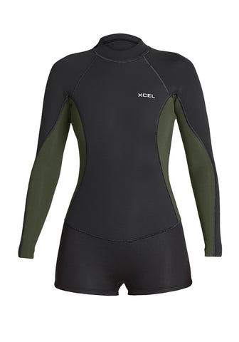 Xcel Womens Wetsuit Axis Back Zip Long Sleeve Spring