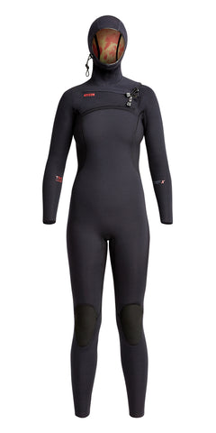 Xcel Womens Wetsuit Comp X Hooded 4.5/3.5mm Fullsuit