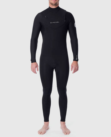 Rip Curl Mens Wetsuit Dawn Patrol Chest Zip 4/3 Fullsuit