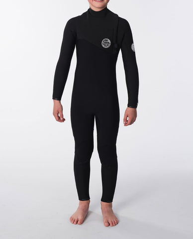 Rip Curl Youth Wetsuit Flashbomb Zip Free 3/2mm Fullsuit