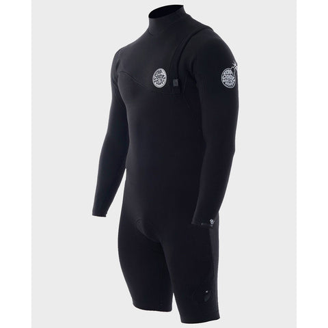 Rip Curl Mens Wetsuit E Bomb Pro Zip Free Long Sleeve Springsuit