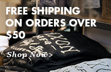 Free Shipping on Order Over $50
