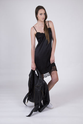 Night Into Day Sultry Silk Slip Dress: Size 6- SOLD OUT