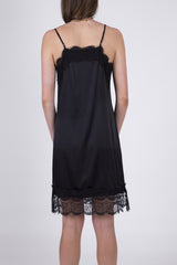 Night Into Day Sultry Silk Slip Dress: Size 6