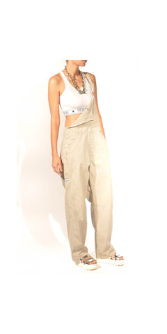 Urban Muse 90s Denim Overall with Cargo Details: Size 10