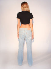 light wash levis flares