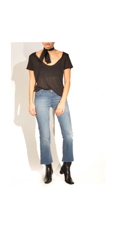 Street Style Muse Cropped Flare Vintage Levis: Size 26