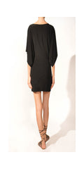 Norma Kamali Vintage Black Dress : Size Medium