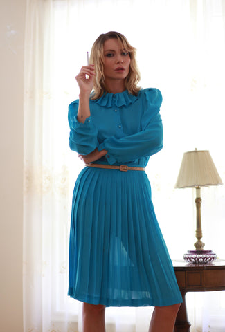 vintage skirt and top set