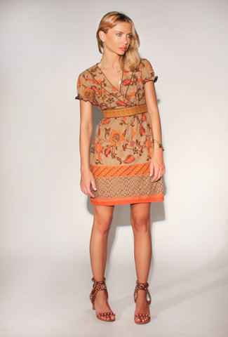 Miu Miu Vintage Folklore Dress: Size 38