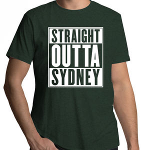 Straight Outta Sydney - Mens T-Shirt
