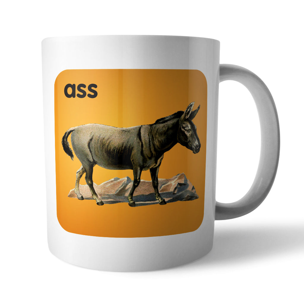 Ass: Animal Innuendo Mug