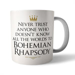 Bo Rap Ceramic Mug - Needs & Wishes Art