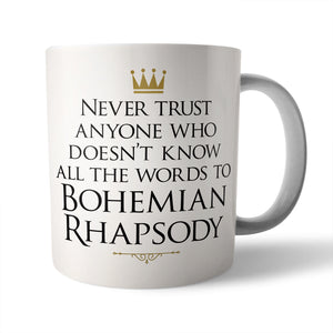 Bo Rhap Ceramic Mug - Needs & Wishes Art