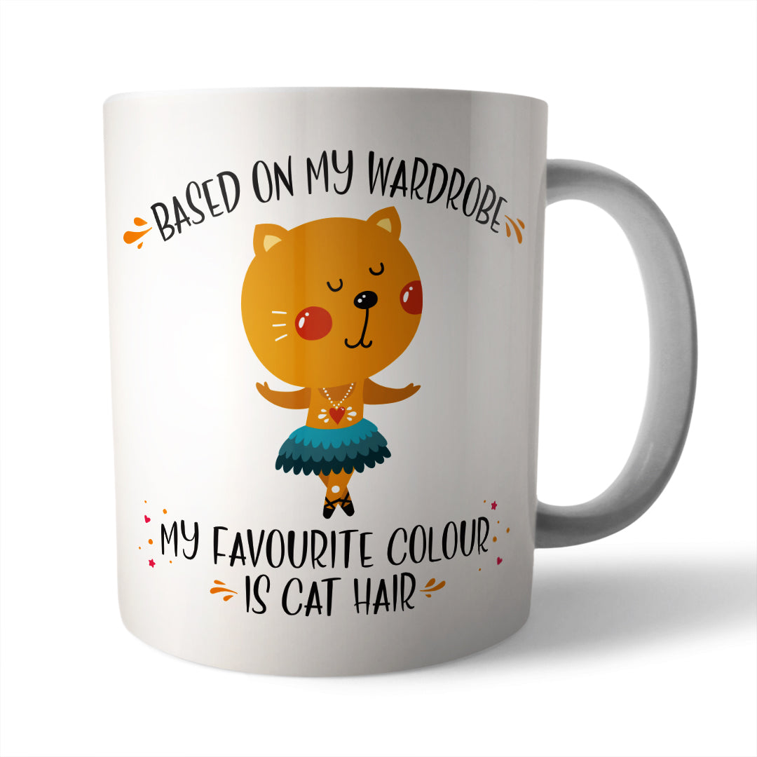 Cat Hair Ceramic Mug - Needs & Wishes Art