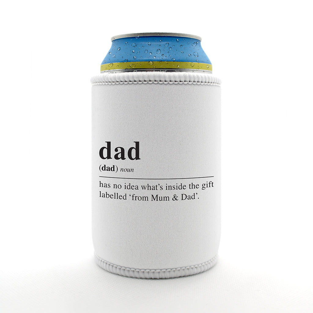Dictionary Definition: Dad - Stubby Holder