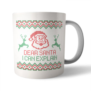 I Can Explain Christmas Mug - Needs & Wishes Art