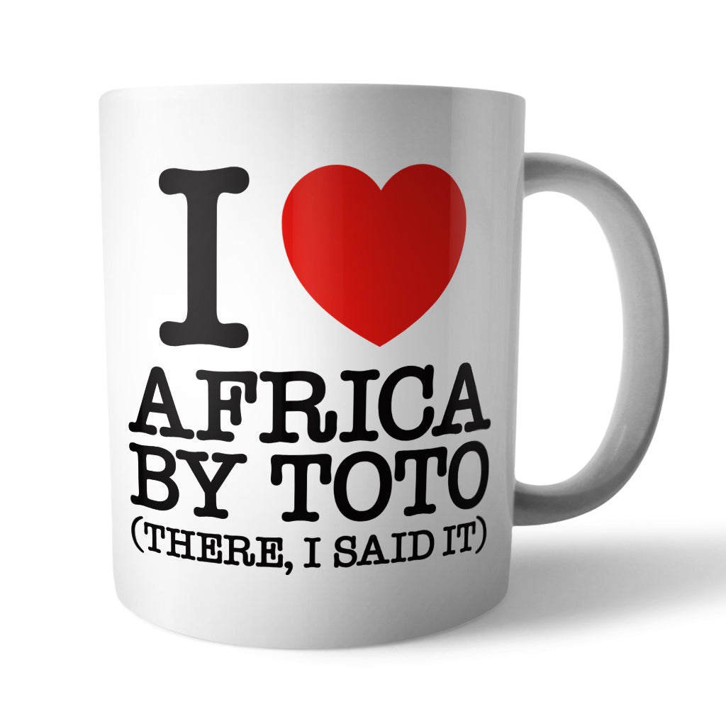 I Heart Africa by Toto Ceramic Mug - Needs & Wishes Art