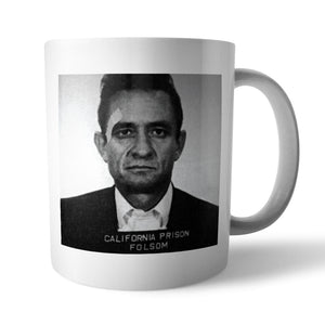 Johnny Cash Mugshot Mug - Needs & Wishes Art