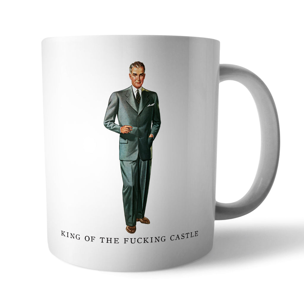 King Of The Ceramic Castle Mug