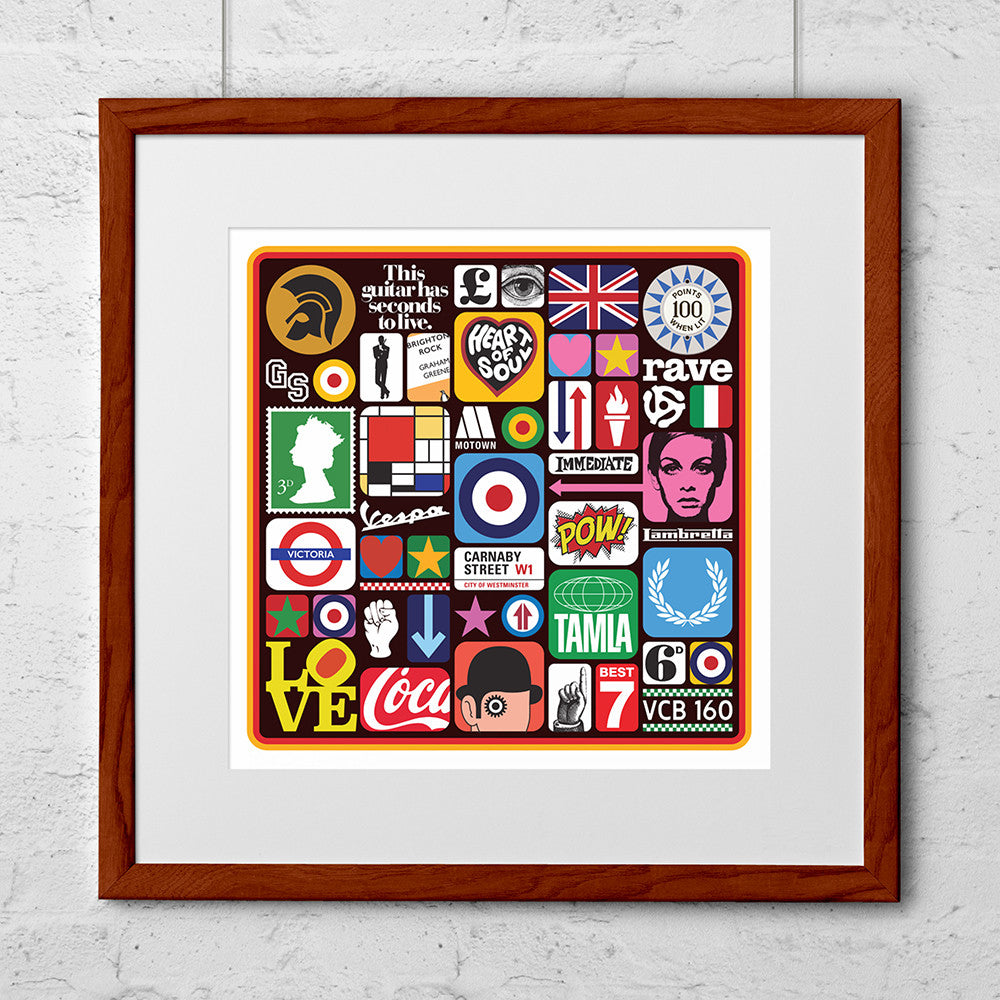 This is the Modern World Art Print - Needs & Wishes Art