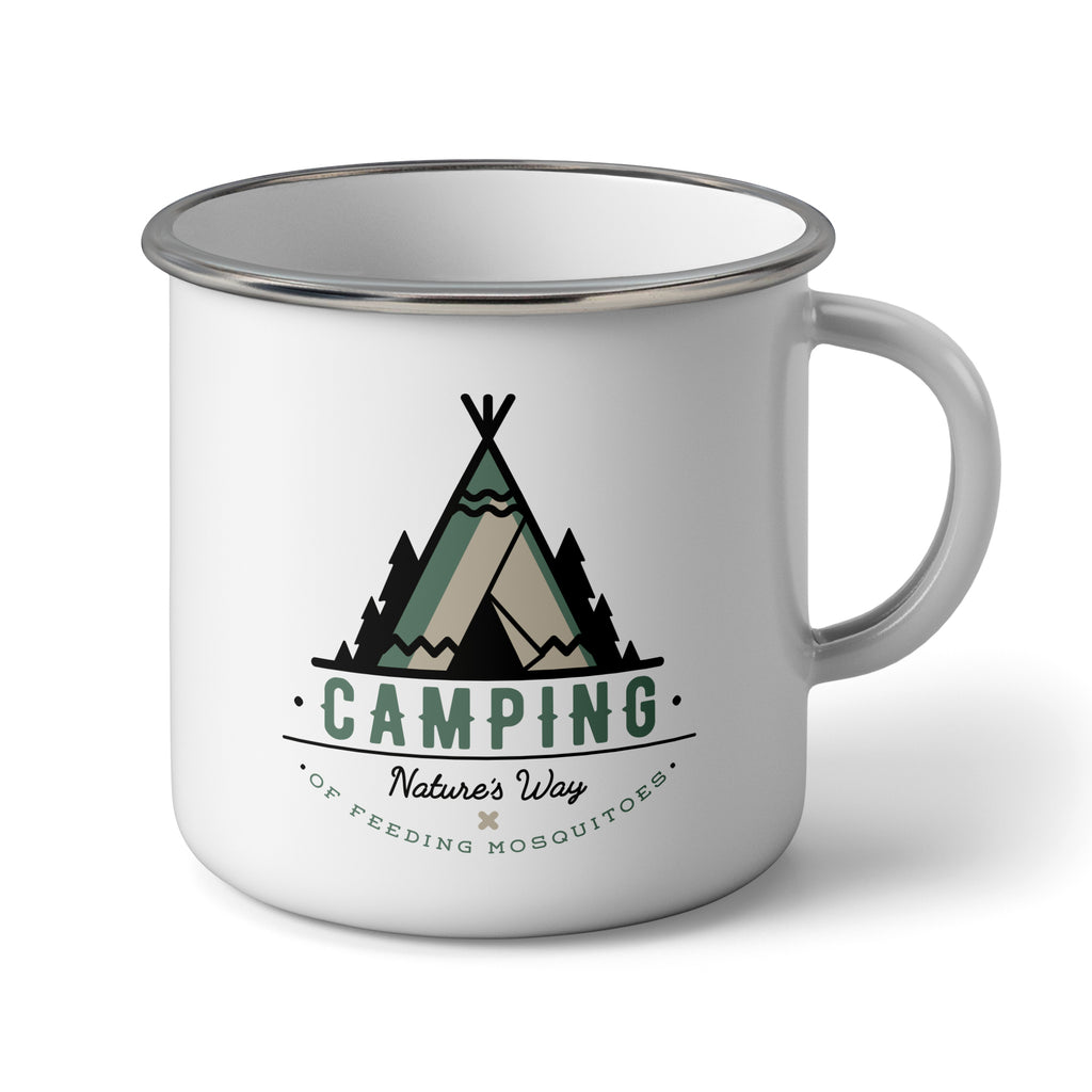 Camping - Nature's Way: Enamel Camping Mug